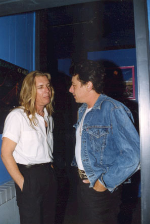 Randy with Joe Ely